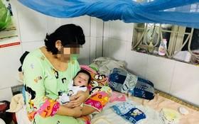 今年16歲的母親正在同奈省梅進臨時避難收容處所暫住。