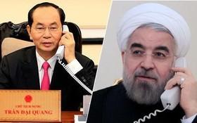 國家主席陳大光向伊朗總統哈桑‧哈尼博士拍去賀電。(示意圖源:互聯網)