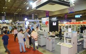 圖為2017年Vietnam Print Pack FoodTech 展覽一隅。