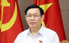政府副總理王廷惠在會議上發表演講。(圖源:誠鐘)