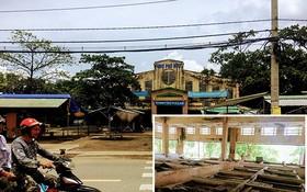 富有街市荒廢了10多年,裡面的攤位已損壞。