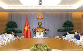 政府常務會議現場一隅。(圖源:Chinhphu.vn)