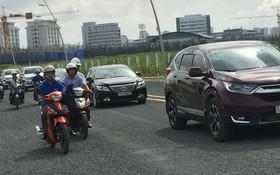 連接西貢大學和第七郡阮文靈街、馨藍居民區的長達830米D1街正式通車。