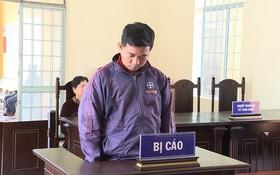 出庭受審的被告人阮成到。(圖源:海洋)