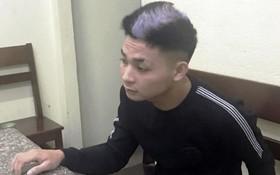 被逮捕的嫌犯陳文俊。(圖源:廷詩)