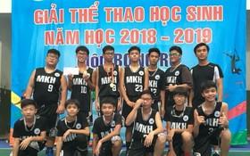 麥劍雄學校籃球隊。