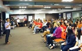 東盟青年性別平等對話座談會現場一瞥。(圖源:春松)