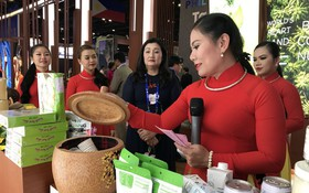越南企業參加中國-東盟博覽會。