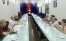 海南會館與書法會商討籌辦「慈善揮春」活動。