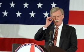 美國國家安全顧問博爾頓。(圖源:Getty Images)