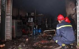 火勢熄滅後的現場。(圖源:VTC)