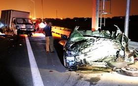 事故現場,致2死3傷。(圖源:何金)