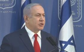 當地時間18日晚,以色列總理內塔尼亞胡宣佈將兼任以色列國防部長。(圖源:互聯網)