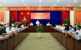 第十屆平陽省黨部執委會第二十一次會議現場。(圖源:智勇)