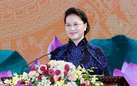 國會主席阮氏金銀將於本月4至7日對韓國進行正式訪問。(圖源:互聯網)