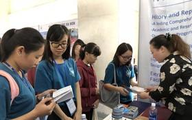 2018 年HSK留學諮詢會吸引廣大學生、家長前來參加。