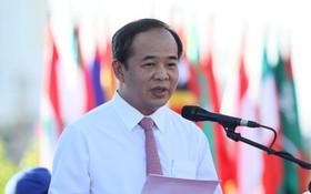新任 VFF主席黎慶海。(圖源:雙魚)