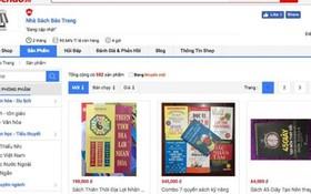 在Sendo平台註冊的寶莊書店承認銷售盜版書籍。