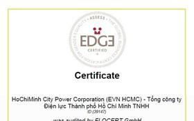本市電力總公司榮獲全球性別平等認證。(圖源:EVNHCMC)