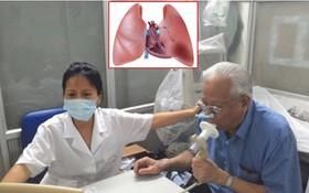 在越南,40歲以上的人患慢性阻塞肺病的比例是4.1%。患病人數有繼續增加的趨勢。(示意圖源:互聯網)