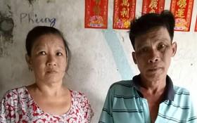 劉阿鳳與丈夫正等錢入院治療。