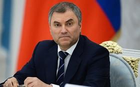 俄羅斯國家杜馬主席維亞切斯拉夫‧維克托維奇‧沃洛金。(圖源:Sputnik)