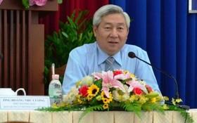市都市鐵路管委會副主任黃如剛。(圖源:Vietnamnet)