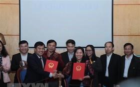 北件省國會代表團辦公廳移交簽署儀式。(圖源:越通社)