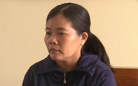 被起訴的女教師阮氏芳水。(圖源:勞動報)