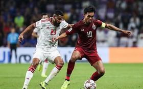 阿聯酋與泰國比賽一瞥。(圖源:互聯網)