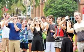 統計總局:本月份前來越南的國際遊客逾150萬人次,同比增加5%。(圖源:越勇)