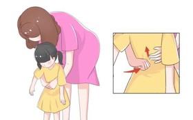 1歲以上的兒童:腹部手拳連續衝擊6~8次。(圖源:互聯網)