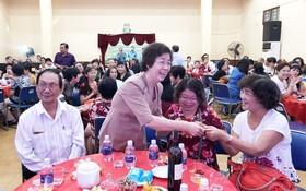 2019年華人藝人新春聚會一瞥。