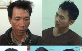 被起訴的涉案團夥,由上至下左起:梁文雄、王文雄、梁文呂、裴文功及范文任。(圖源:CTV)