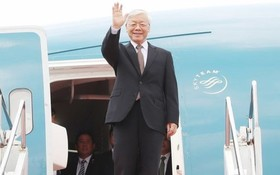 黨中央總書記、國家主席阮富仲將於本月24日至26日分別對老撾人民民主共和國和柬埔寨王國進行正式友好訪問及國事訪問。(圖源:越通社)