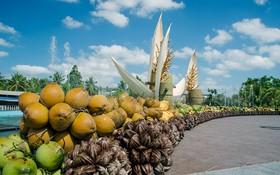 """2019年第五次""""檳椥省椰子盛會""""將從今年11月14至18日舉行。圖為上屆椰子盛會的椰子街一瞥。(圖源:檳椥報)"""