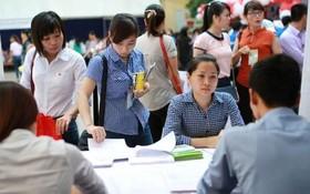 今年3月份,本市勞工招聘需求約3萬個工作崗位。(示意圖源:互聯網)