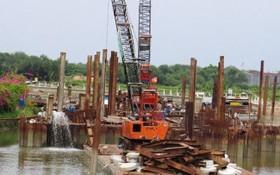 10萬億元治水項目已於去年4月底停工。