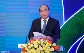 政府總理阮春福在發起儀式上,呼籲我國人民加強運動、步行、騎自行車、做體操等。(圖源:VGP)