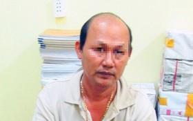 被捕的嫌犯阮文功弟。(圖源:同起報)