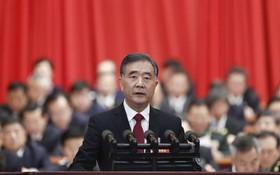 全國政協第十三屆第二次會議昨天(3日)在北京開幕,中共政治局常委汪洋首次以他所兼任的政協主席身份做工作報告。 (圖源:中新社)