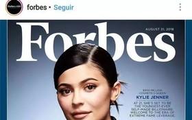 今年僅有21歲的美國電視明星和美妝博主凱莉‧詹娜成為史上最年輕的白手起家億萬富豪。(圖源:互聯網)