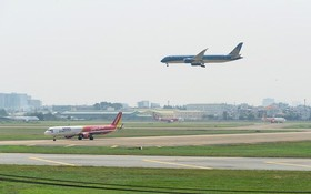 越南航空港總公司應迅速完成新山一國際機場擴建與同步改建各工程項目的可行性研究報告。(圖源:互聯網)