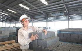 使用免燒磚有助環保。
