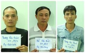被拘捕的3名涉案嫌犯。(圖源:真誠)