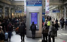 圖為英國倫敦聖潘克拉斯車站(St.Pancras)。(圖源:互聯網)