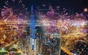 本市3地點燃放煙花迎祖國統一。(示意圖源:互聯網)