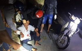 同奈省居民參加維護地方秩序治安。