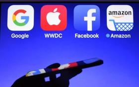 法國現已將向互聯網巨頭GAFA(谷歌、蘋果、臉書、亞馬遜)徵稅的法案提交給國民議會。(  圖源:AFP)