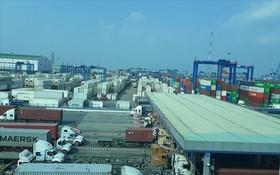 全國各海港滯留上千廢料集裝箱。(示意圖源:德才)
